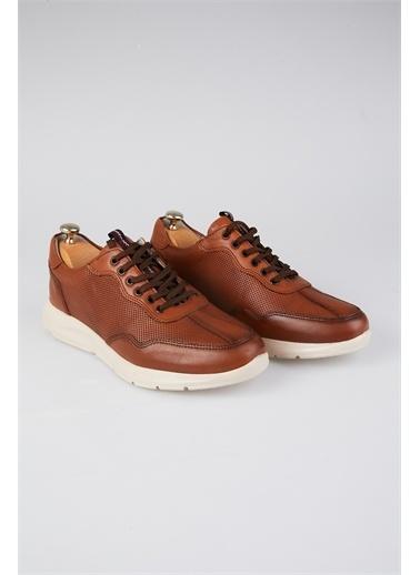 Tripy Hakiki Deri Sneakers Taba